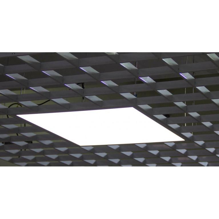 Светильник ULTRA LIGHT LED OPAL  36W  6500K 588х588х10 Грильято