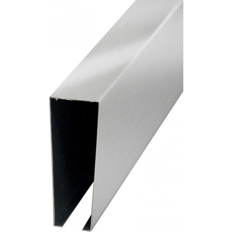 Рейка кубообразная металлик 30х85х4000мм
