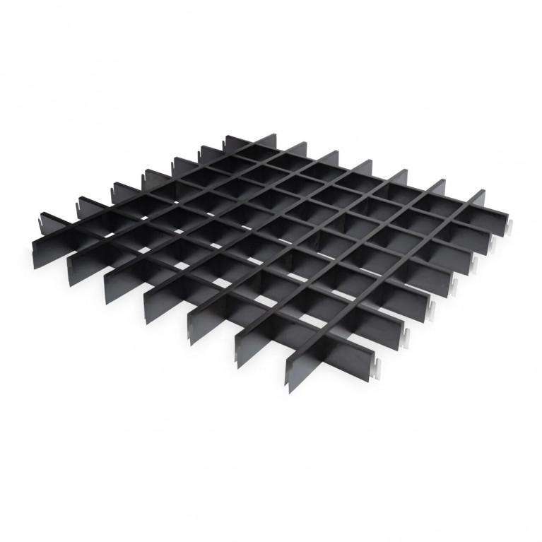 Грильято классический  черный  Эконом 100х100х40