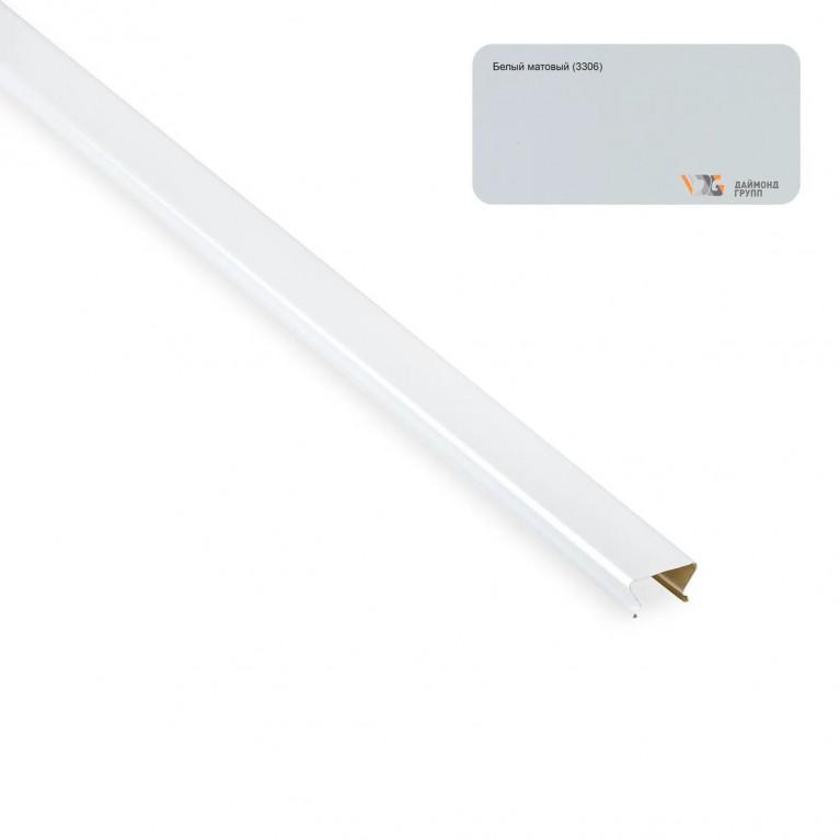 Проставка S-25х4000 (белый матовый-3306/R) D
